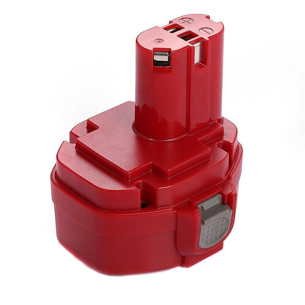 ФОТО 1 PC Rechargeable battery 14.4v 3000mAh for Makita 1420 1422 1433 1434 1435 1435F Makita 4000&6000 Series 192 699 193