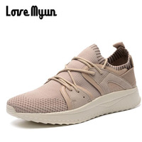 Spring Autumn High Quality Brand New Male Mesh Breathable Men Casual Shoes Fashion Brand Soft Breathable
