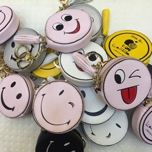 Fun personality fashion brush good quality mode cartoon small wallet PU women's wallet with zipper bag accessories wallet coin b