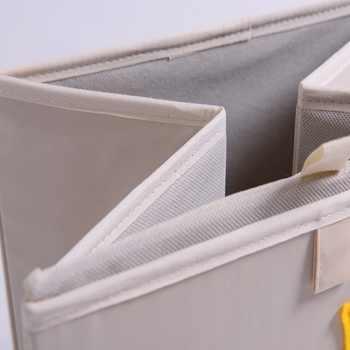 Embroidery Storage Box Cartoon Animal Folding Large Laundry Basket Sundries Children Clothes Book Storage bins kid toy organizer