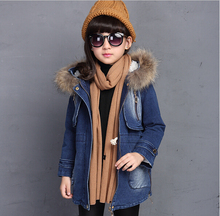 HOT 2016 high quality Winter new thickening and wool cowboy cotton padded clothes Cuhk child ladies