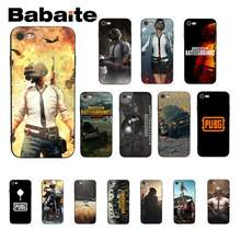 Babaite Pubg Playerunknown's Battlegrounds Silikon Lembut Tpu Ponsel Cover UNTUK iPhone 8 7 6 6 S Plus X XS Max 5 5 S SE XR 10 Cover(China)