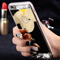 FLOVEME Алмаз Зеркало Чехол Для iPhone 7 6 6 S Плюс 5S SE Горный Хрусталь ручной Кристалл Акриловые Обложка Для Apple iPhone 6 7 6 S 5S