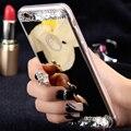 FLOVEME Diamond Mirror Case For iPhone 7 6 6S Plus 5s SE Handmade Rhinestone Crystal Acrylic Cover For Apple iPhone 6 7 6S 5S