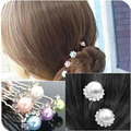6 PCS/Lot  Women Bride Simulated Pearl Hearwear Hear pin Clips U Pick Jewelry Accessories