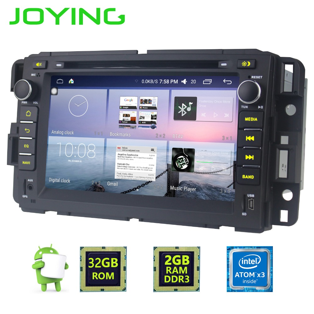 7 Joying 2GB 32GB Android 6 0 font b Car b font Radio Stereo Auto font