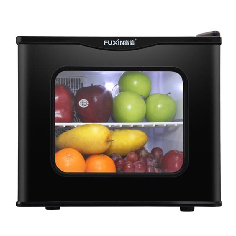 Cold&warm Mini Refrigerator Household Mini Fridge Small Refrigeration Heating Sample Cabinet 17L Comestic Refrigerator