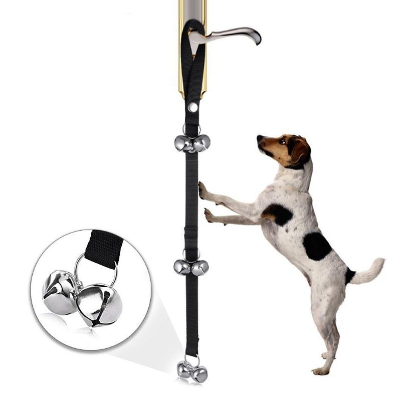 Dog Potty Training Bell Doorbell Adjustable for Housebreaking Housetraining Door-0