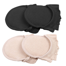 1Pair 5 Toes Breathable Cotton Sponge Half Insoles Pads Cushion Metatarsal Sore Forefoot Su