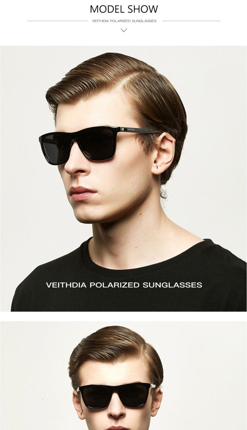 Aluminium Magnesium Men Polarized Sunglasses