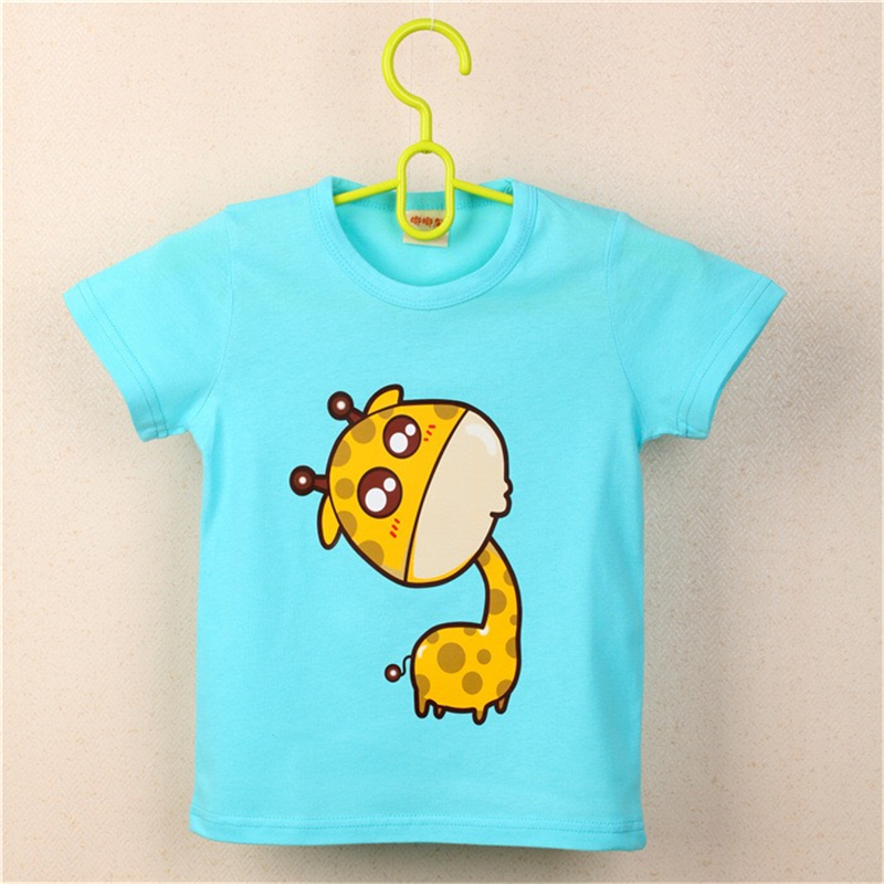 FHADST-2017-Summer-New-Baby-Boys-White-Cool-T-shirt-Short-Sleeve-100-Cotton-Casual-tees-Kids-Clothes-Character-Cute-monkey-tees-4