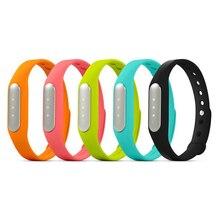 100% оригинал Сяо Mi Band Bluetooth Smart Браслет с сна Мониторы шагомер калорий здоровый Сяо Mi Напульсники