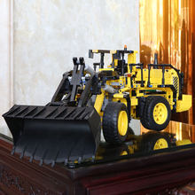 20006 technic series L350F wheel loader Remote control car Model Building blocks Bricks with LegoING 42030 Christmas gift(China)
