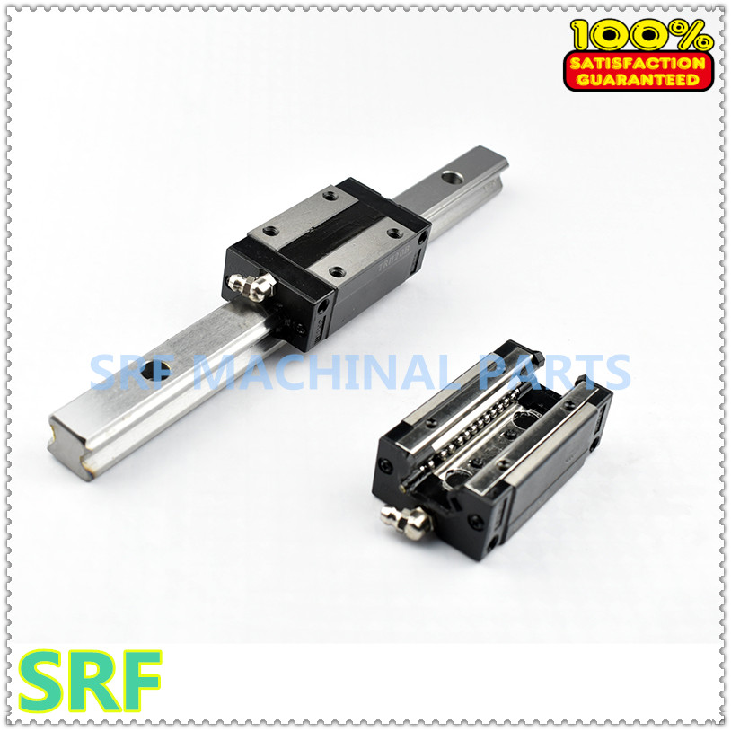 Здесь продается  High quality 25mm Precision Linear Guide Rail 2pcs TRH25 L=1000mm +2pcs TRH25B Square linear block for X Y Z Axis  Аппаратные средства
