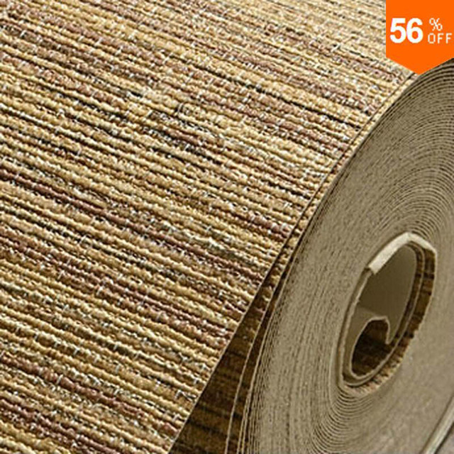 Best Free shipping Europe Wallpaper Direct Selling Rushed Texture Living Room Plain Bedroom Hall Backdrop Wall Cover Thicker
