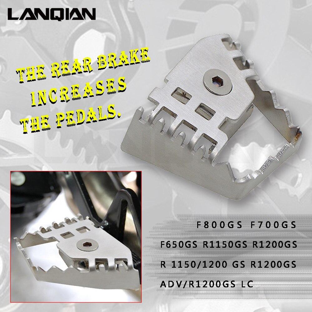 リアフットブレーキレバーペグ延長拡大エクステンダー Bmw F800GS F700GS F650GS R1150GS R1200GS R 1150/1200 GS アドベンチャー