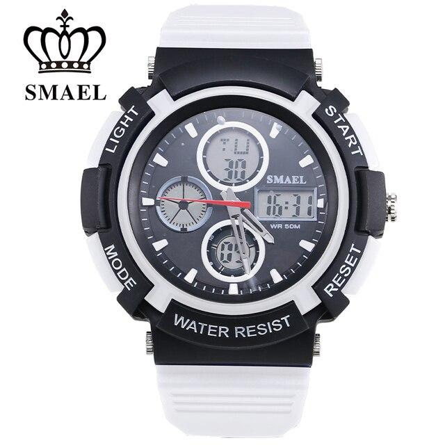 Quartz Outdoor Multifunctional Luminous Watch Lexery Stopwatch SMAL 50m Waterproof Sports Electronic Watch Teenage 1310