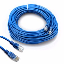 ФОТО 1m/1.5m/2m/3m/5m/20m cat5 100m rj45 ethernet cables 8pin connector ethernet internet network cable cord wire line blue rj 45 lan