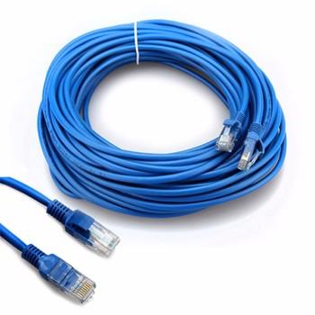 1m/2m/3M/5m/40m CAT5 100M RJ45 Ethernet Cables 8Pin Connector Ethernet Internet Network Cable Cord Wire Line Blue Rj 45 Lan CAT6