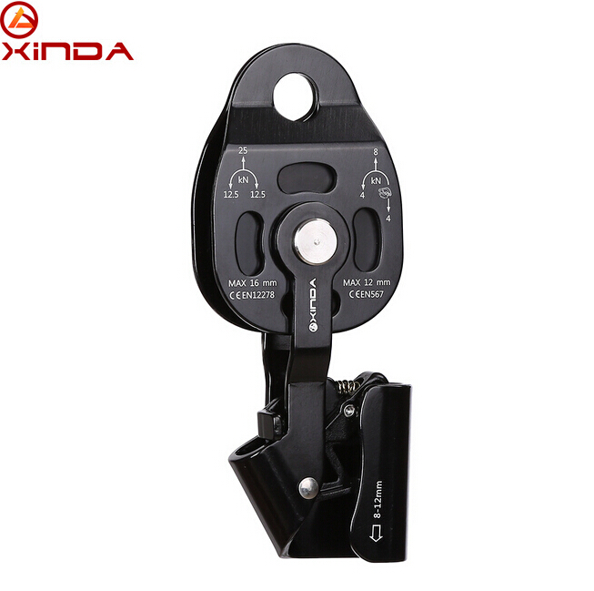 цены XINDA Professional Lift Weight Pulley Device Rescue Survive Gear outdoor rock climb high altitude