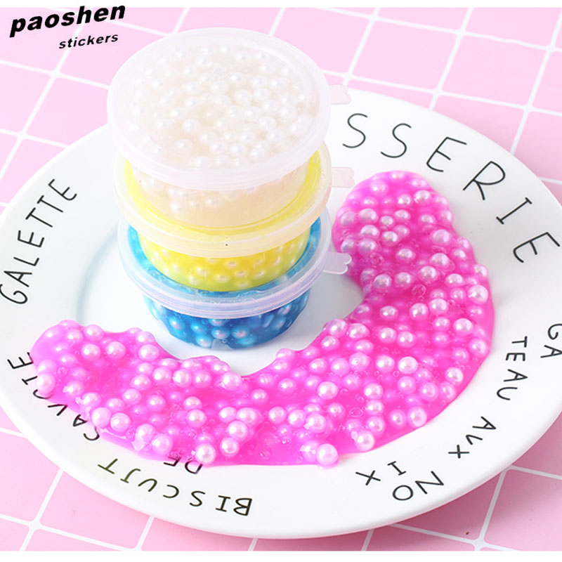 1pcs New Pearl Mud Fluffy Foam Incense Squishy Cat Beads Eliminate Stress Children's Toys Antistress Toy Squeeze Toys pa93 pu foam shrimp model squishy relieve stress toy