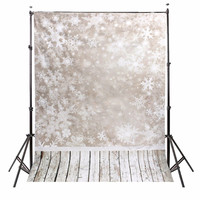 5x7ft Vinyl Photography Background Snow Scenery Christmas Photographic Backdrop For Studio Photo Prop Cloth 1 5x2