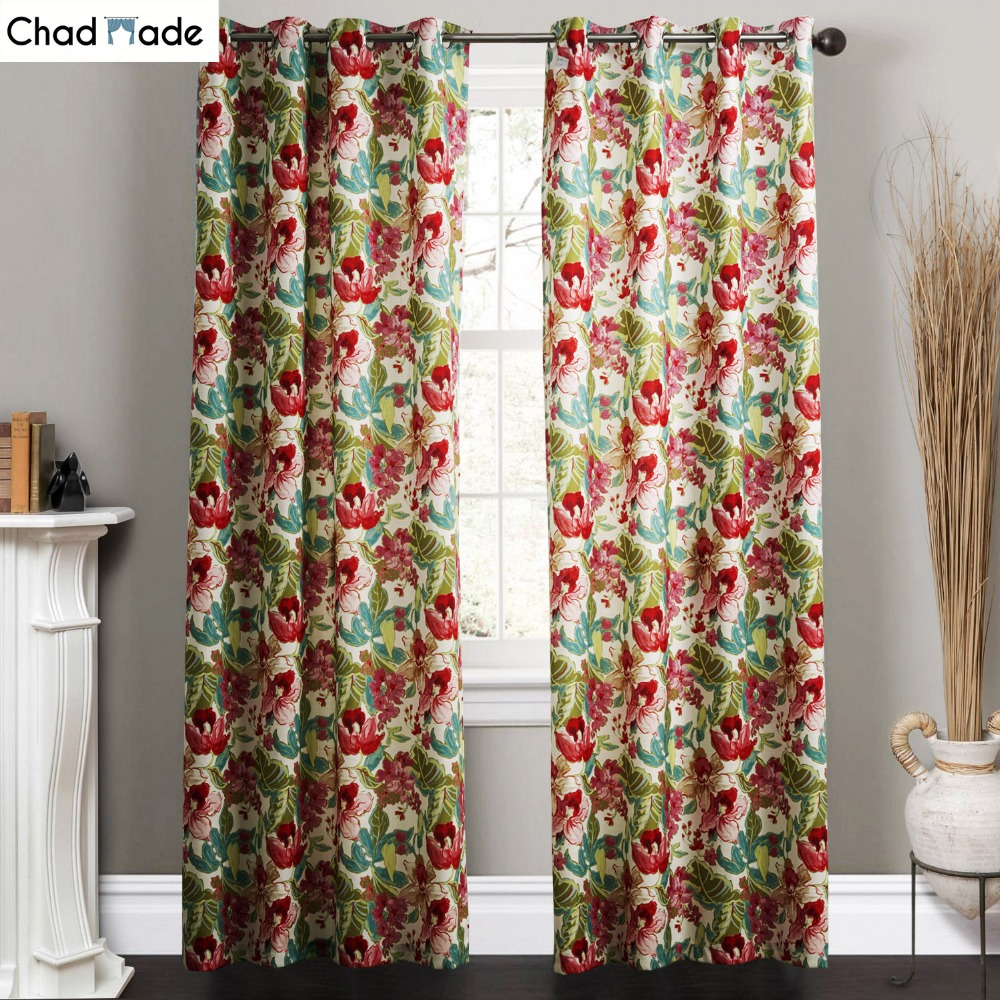 ChadMade Fabric Elegant Luxury Curtains For Living Room Pink Blinds  Jacquard Drapes Damask European Window Curtain