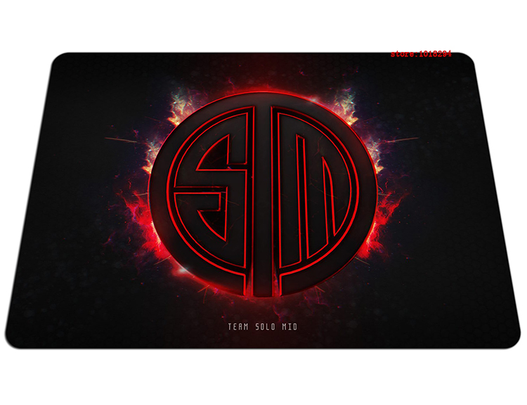 Team Solo Mid mouse pad Christmas gifts large pad to mouse notbook computer mousepad fire gaming padmouse laptop gamer play mats