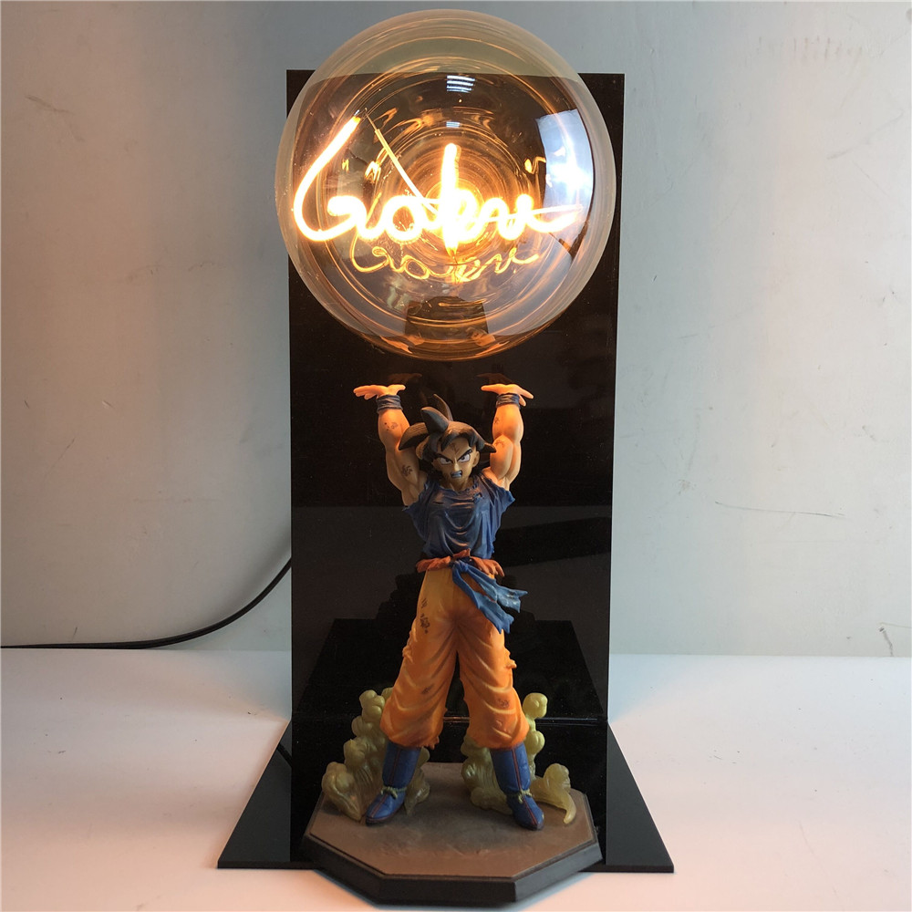 Lights & Lighting Dragon Ball Lamp Led Dragon Ball Z Son Goku Figures Night Light Dragon Ball Super Goku Genki Dmaspirit Bomb Table Lamp Bulb Dbz Making Things Convenient For The People