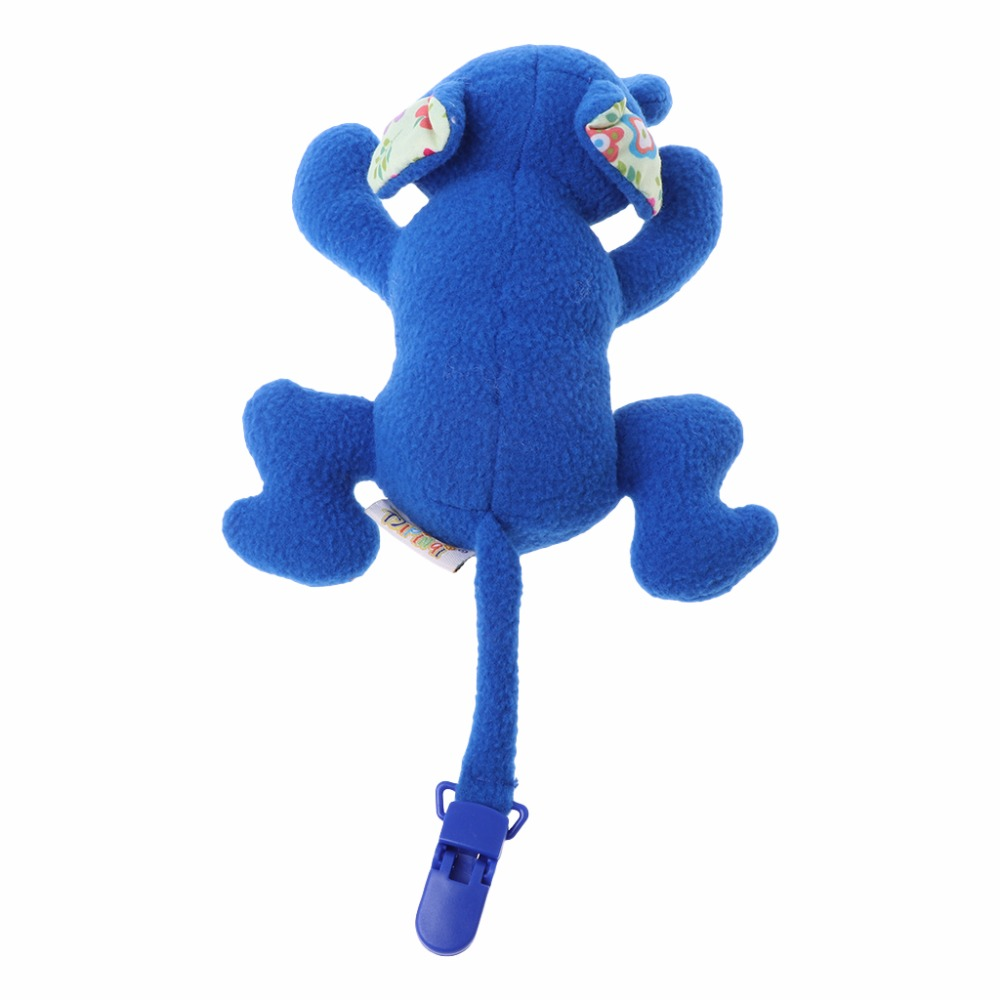 Baby Nipple Toys Pacifier Lovely Stuffed Animals Hang Clips Feeding Holder Plush