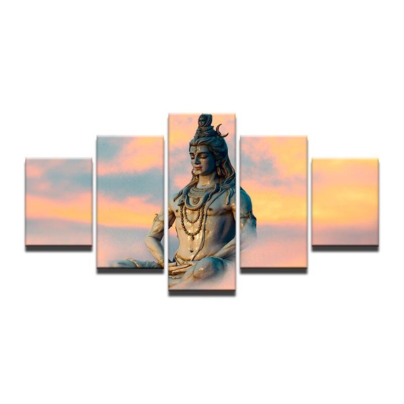Arte de la pared cuadros modernos marco lienzo HD impreso pintura 5 ...