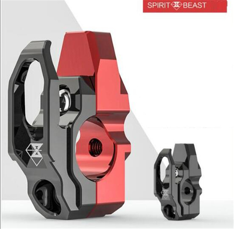 SPIRIT BEAST Motorcycle Hook Decoration Handlebar Modified Accessories Helmet Hook Handle Handle Mirror Mount Hook велотренажер spirit fitness xbr25 2017