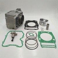 KUOQIAN 92 мм 23 мм 500CC цилиндр Поршневой клапан кольцо уплотнение поршня комплект для Kazuma Синьян 500 ATV UTV двигателя Запчасти