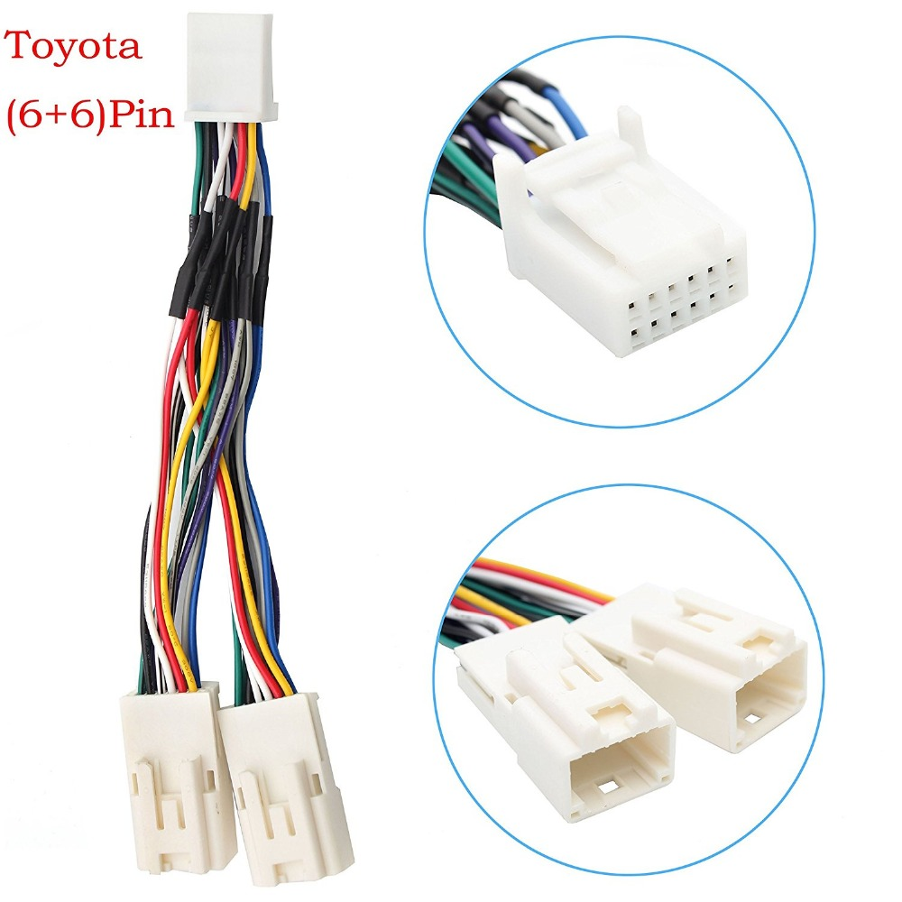 online buy whole toyota plug wires from toyota plug y cable radio wiring harness for usb adapter cd changer navigation device fit for toyota