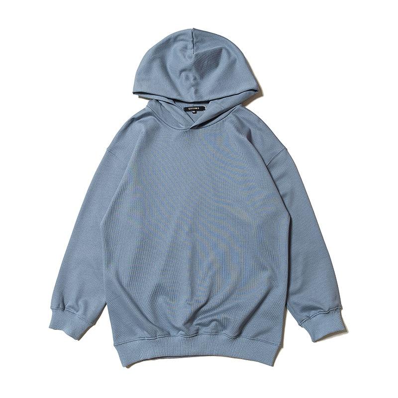 Bright Season 6 Hoodies 2019 Spring New Kanye West Hip Hop Skateboard Season6 Pullover Solid Color Casual Season 6 Sweatshirts Men's Clothing