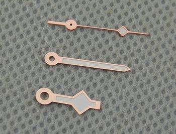 Corgeut różowe złoto (dwa kolor do wyboru) zegarki ręce pasują do Miyota 8205 8215 Mingzhu 2813 automatyczny ruch p392 tanie i dobre opinie Mechaniczne Zegarki Na Rękę Ze stali nierdzewnej 3Bar 0 cali w Brak P391 Odporny na wstrząsy Mężczyźni Moda casual