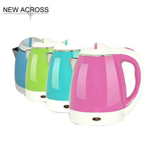 JUH 1pcs Kitchenware Hot Water Cooker No.Msl-12×06 Electric Water Boiler Colorful Pot 1.2L 220v Electric Water Kettle