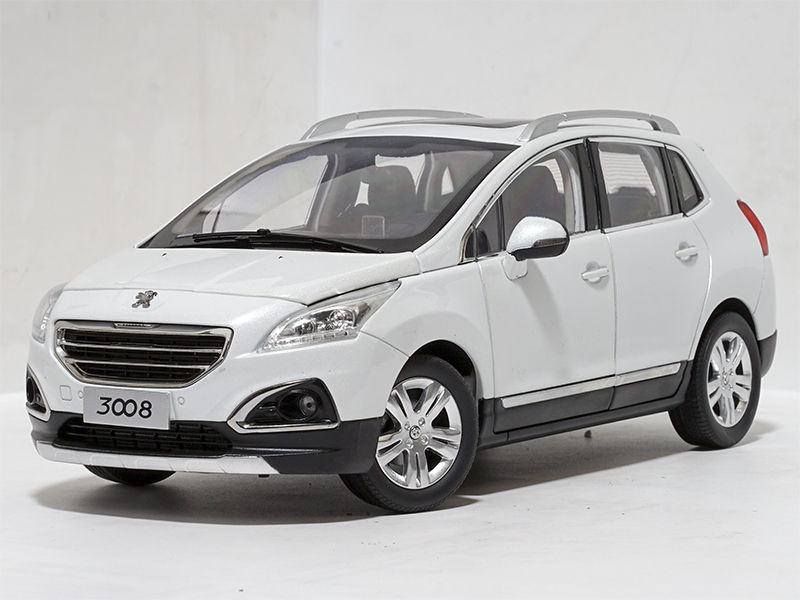 * 1:18 Peugeot 3008 2013 Collectable Diecast Model (Without original package) 1/18 Slot Cars Collection Alloy
