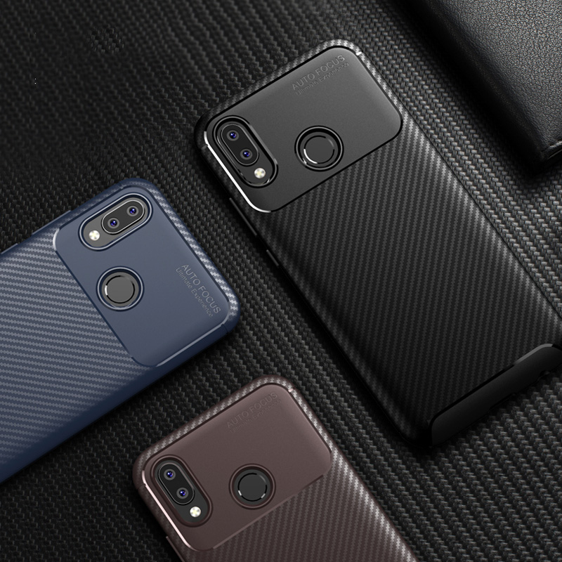 Роскошный углеродный волоконный чехол для телефона на huawei P10 P20 Lite Nova 3 3i Y5 Y6 2018 Коврики 20 Lite Honor 8X max 7A чехол из силикона и термополиуретана
