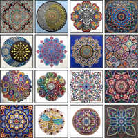 Special Shape Diamond Painting Mandala Flower Modern Pattern DIY 5D Part Drill Cross Stitch Kit Crystal Art