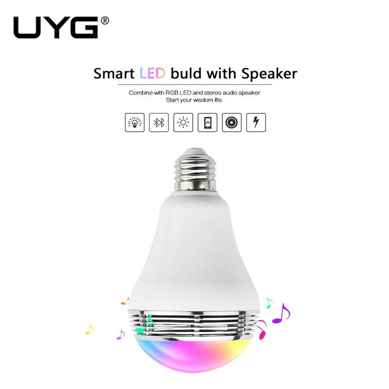 UYG Bluetooth спікер для мобільних 3W Smart LED - Портативні аудіо та відео