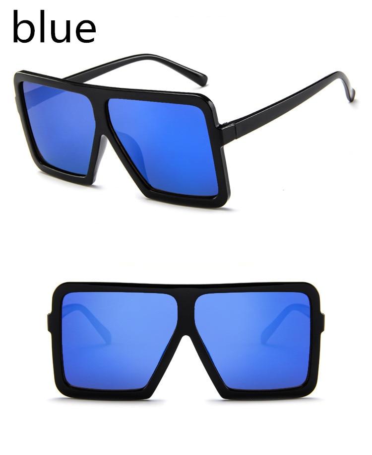 ASUOP2018 large frame new retro ladies sunglasses black radiation fashion men's glasses UV400 international luxury brand square goggles (3)