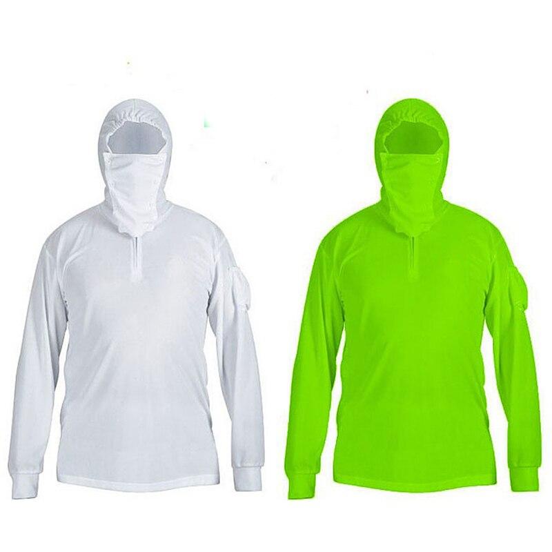 Balıkçılık Açık Ceket adam Giysileri Hoodies Güneş Koruma UV Hızlı Kuruyan Antimosquito Ceketler Kaliteli Rahat Artı Boyutu