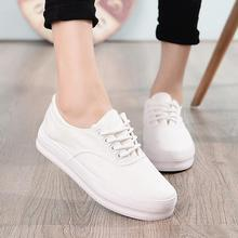 New Canvas Shoes Women's Fashion Casual Shoes Platforms Women White Shoes Breathable Sapatos Femininos  Size 34-40