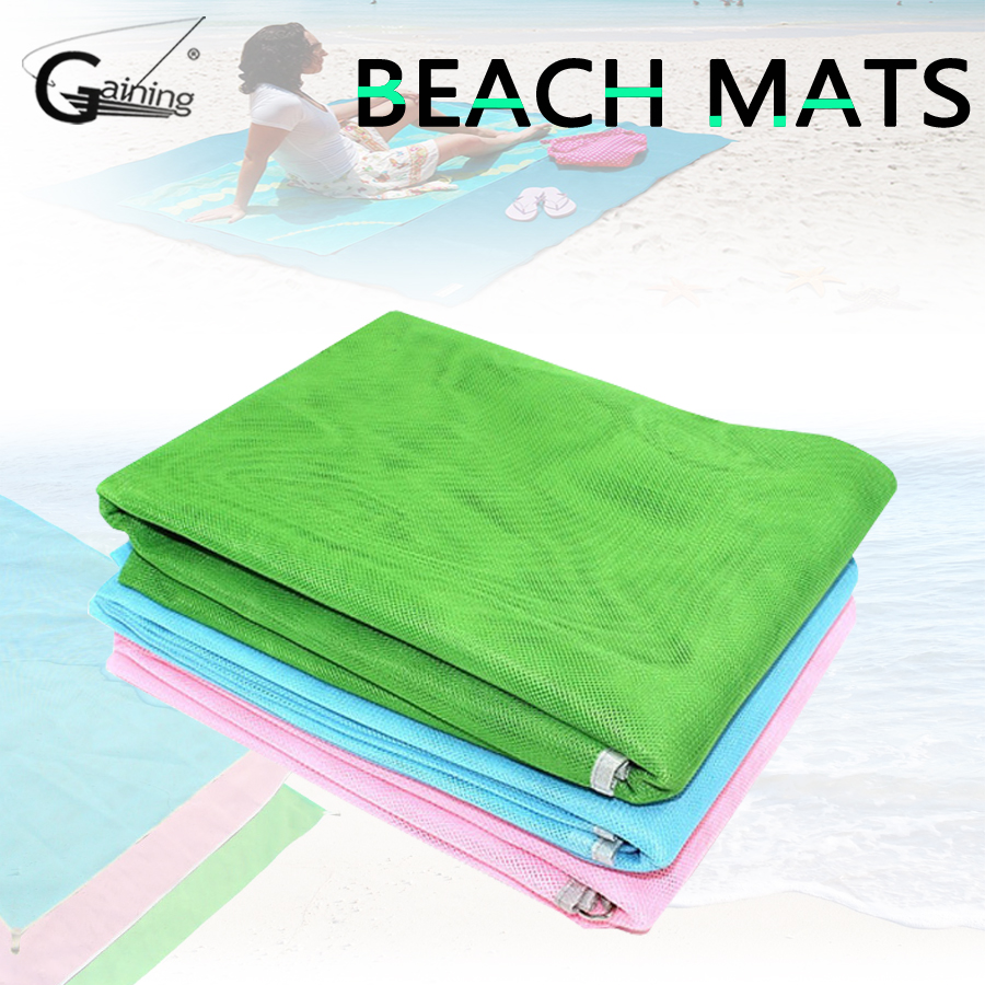 Dropshipping Sand Free Beach Mat Blanket Sand Proof Magic Sandless Cover Sandfree Picknickdecke Picknick Manta Travel Mats Sports & Entertainment Camping & Hiking