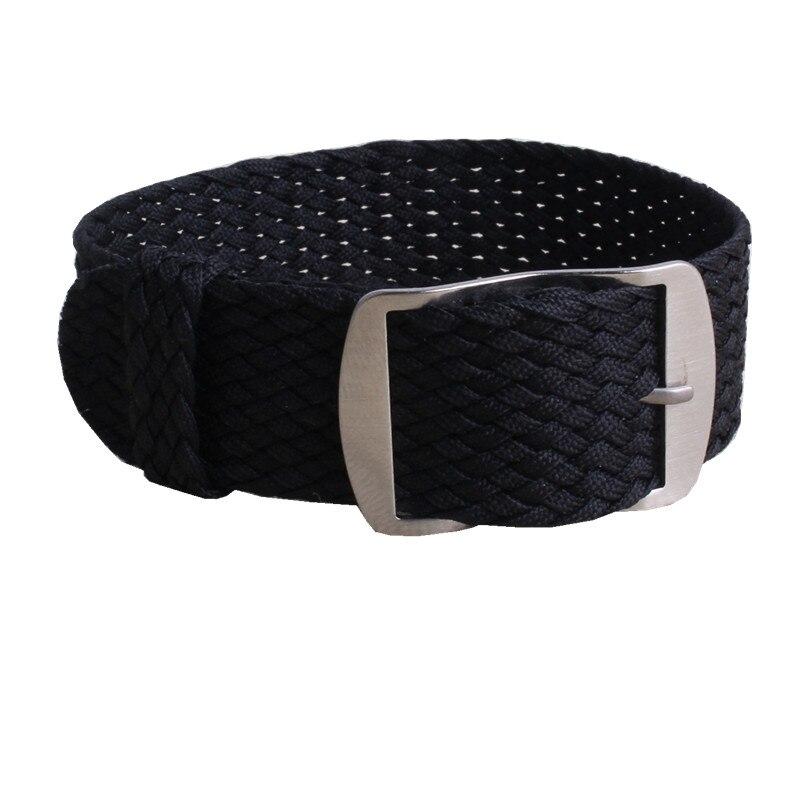 1 PCS / Wholesale Fashion Nylon Woven Perlon Straps Different Colors 20mm 22mm Watchband