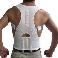 KSY Magnetic Therapy Adult Back Corset Shoulder Lumbar Posture Corrector Bandage Spine Support Belt Back Support Posture Correct