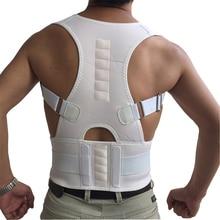 KSY Magnetic Therapy Adult Back Corset Shoulder Lumbar Posture Corrector Bandage
