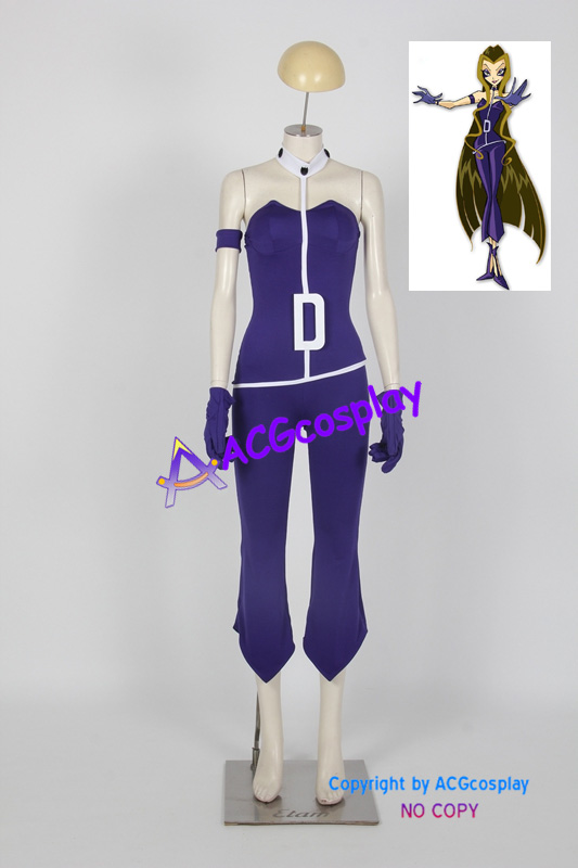 Winx Club Darcy cosplay costumes include the pvc made ...