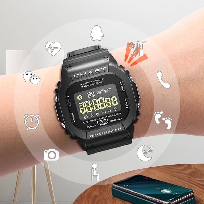 SANDA Smart Sport Watch Men Watches Waterproof Digital LED Electronic Wrist Watch For Men Clock Male Relogio Masculino Watches